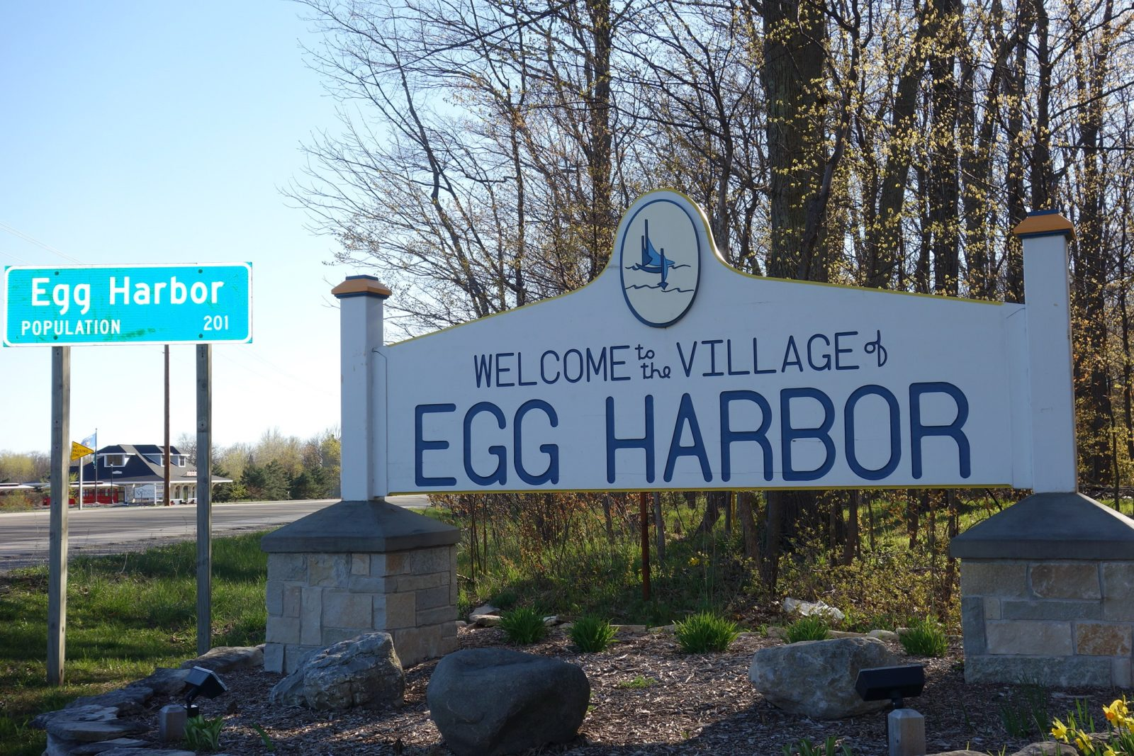 Large Waterfront Rental Egg Harbor Sunsets Vacation Door