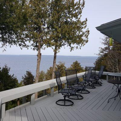Belvedere Cottage Overlooking Green Bay Waters