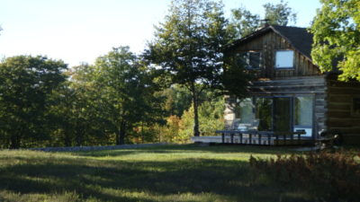 Heaven Hill Is A Unique, Countryside Cabin, Privately Located North Of Ellison Bay