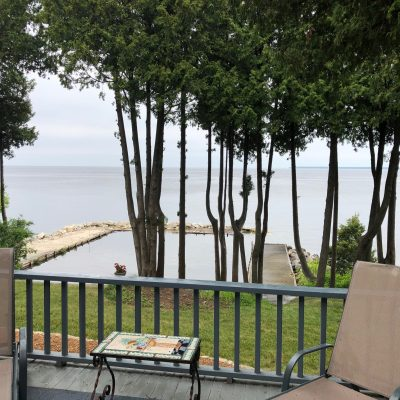 Cottage Row Waterfront with Door County charm