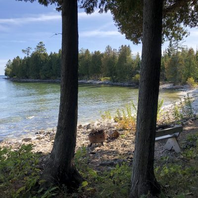 Bues Point Cove…. near Cana Island