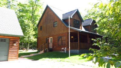 "Diehl's ""Sleepy Moose"" Log Home"