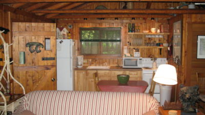 Whispering Pines Romantic Lakefront Cabin