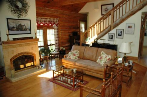 Countryside Log Home Is Private And Pet Friendly Just Out Of Sister Bay